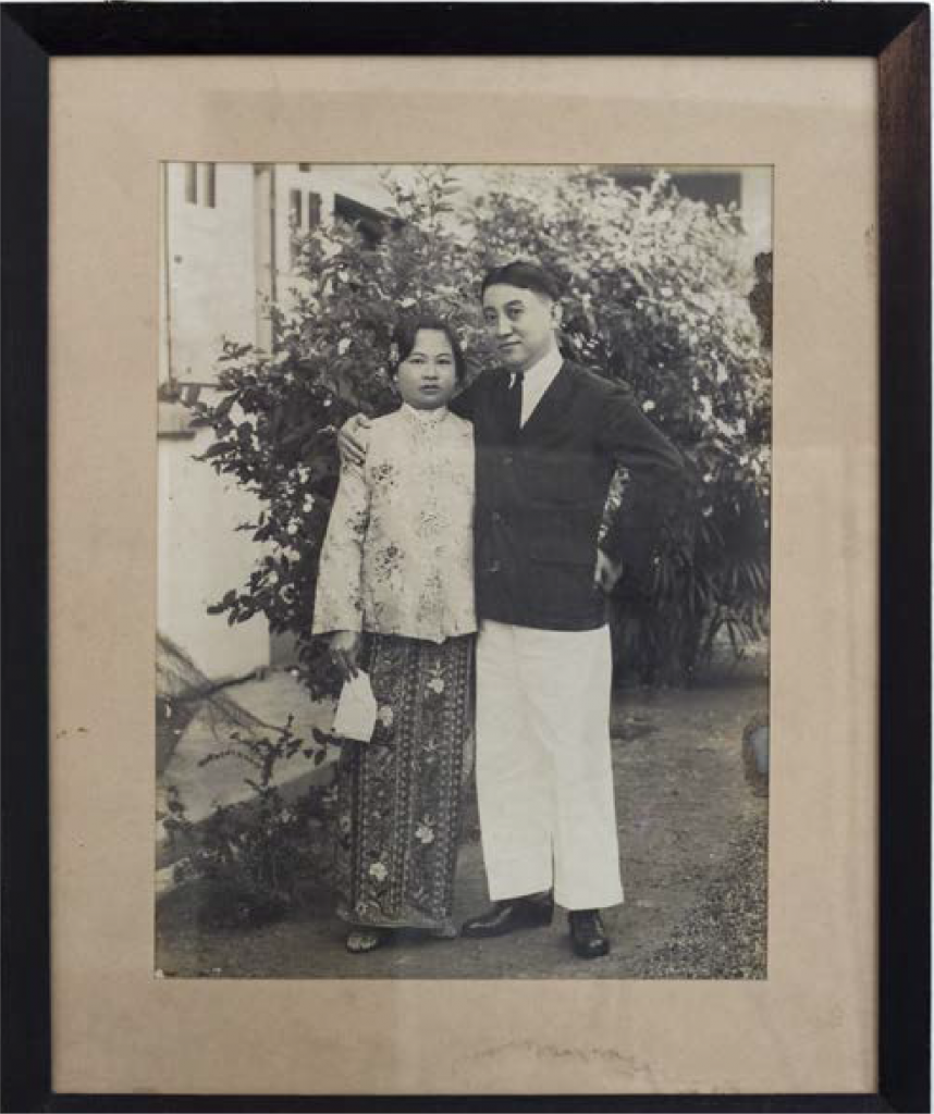 Samuel Fung and his wife Cheah Phaik Har