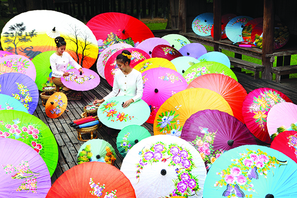 Chiang Mai, Umbrellas , Crafts