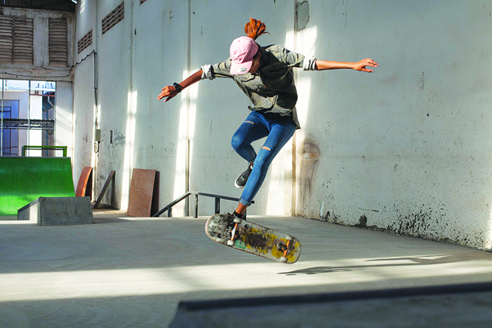 Breaking Boundaries : Cambodia's Female Skateboarder Takes on the Asian  Games   Asian Geographic Magazines