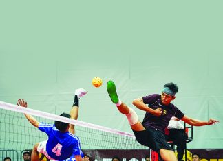 Sepak Takraw , Singapore , Asian Sports