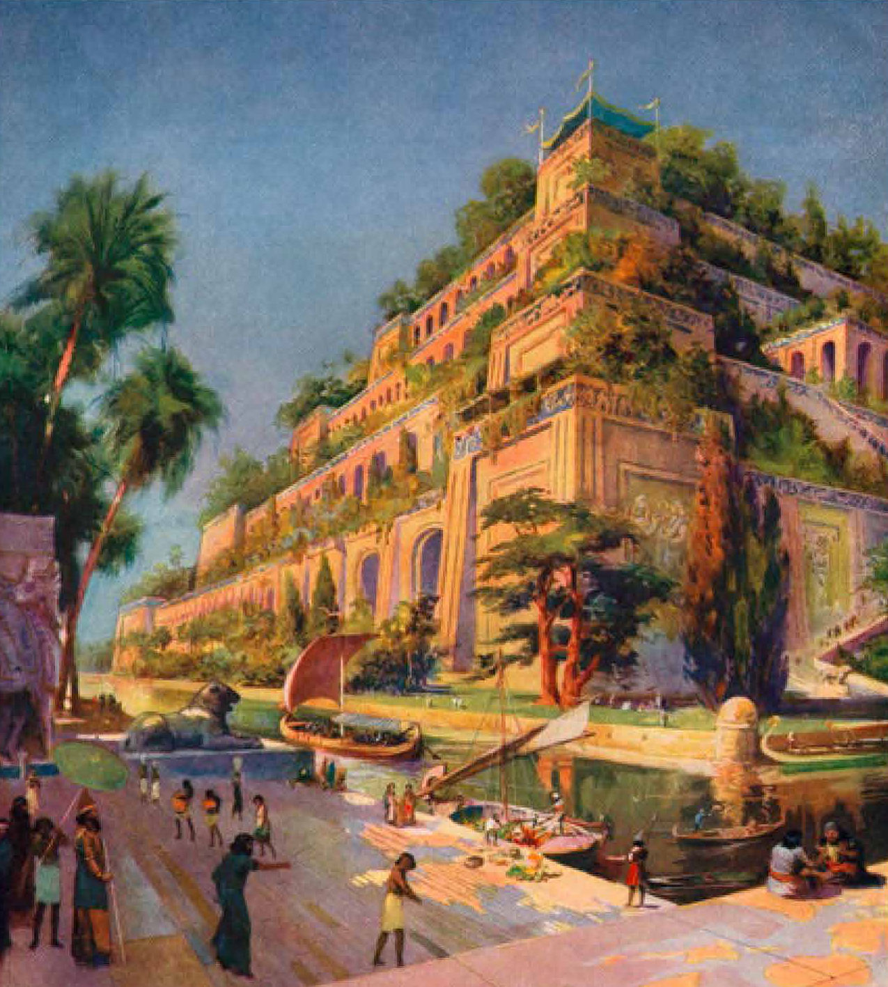 The Hanging Gardens Of Babylon Asian Geographic Magazines