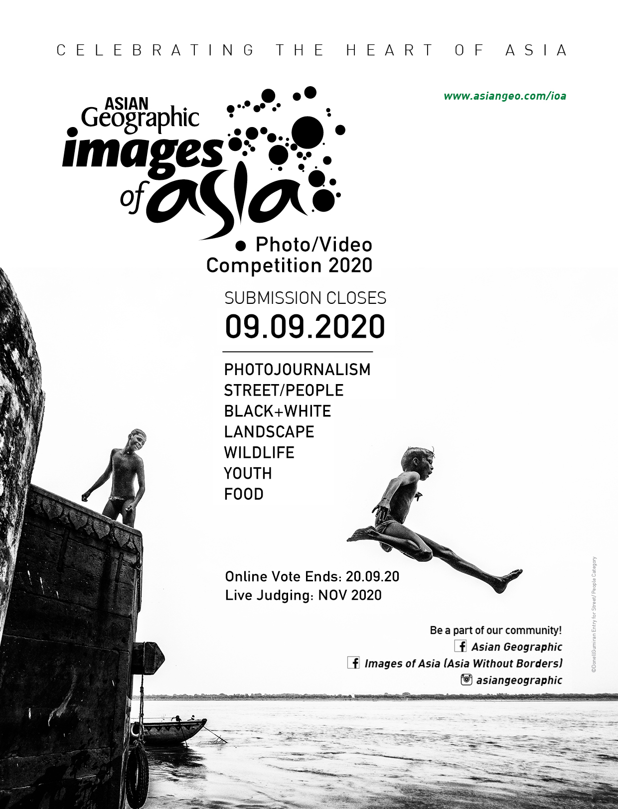 Images of Asia Photography Videography Competition_2020 Poster