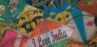 India Independence Day Kite